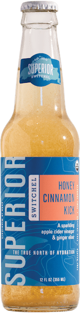 Superior Switchel Honey Cinnamon Kick